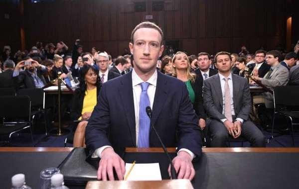 Facebook CEO Mark Zuckerberg Testimony to Congress, Washington DC.