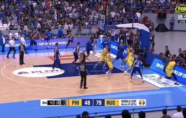 Australia vs. Philippines basketball game erupts into huge brawl