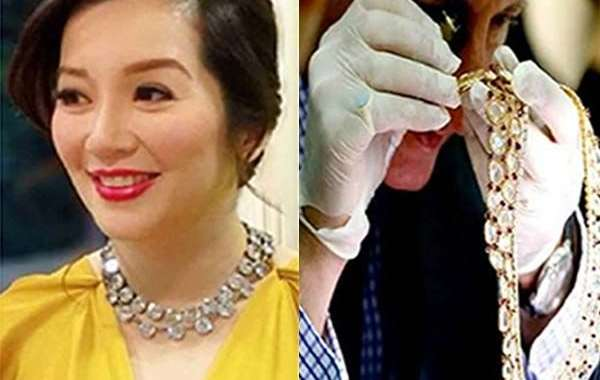 "SC Orders Kris Aquino to Return ""Imelda Marcos  Diamond Necklace"" She Borrowed from Malacañang During Pnoy's Term"