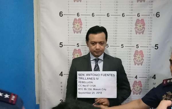 Trillanes Back To Jail!