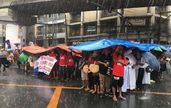Unsuccessful Rally, September 21, 2018, Liberal Party With Priest and Nuns Rally Unsuccessful