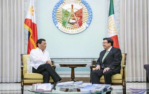 President Duterte visits INC Executive Minister