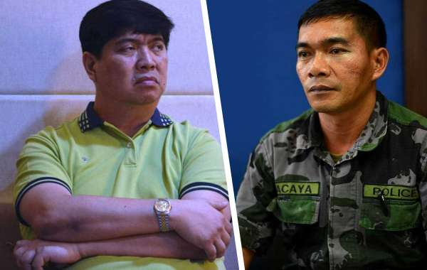 GARIN MAULS POLICEMAN Cong. Richard, Mayor Oca face assault raps