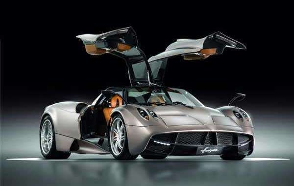 The top 8 most expensive cars in the world. The most amazing vehicles in the world (Pagani Huayra ($1.4M)