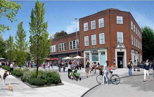 Welwyn Garden City Town Centre development