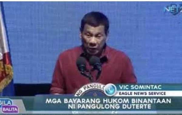 Mga bayarang hukom, binantaan ni Pangulong Duterte