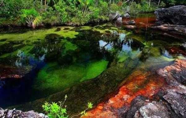 Amazing destination: The river has five seasonal colors