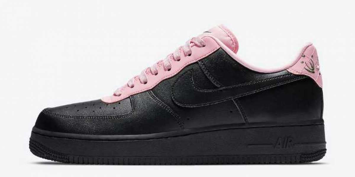 Latest Nike Air Force 1 Low Black Pink Coming On the Way