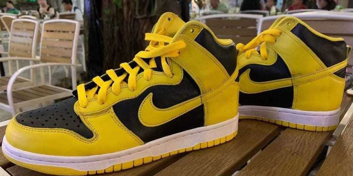 New Release Nike Dunk High Varsity Maize