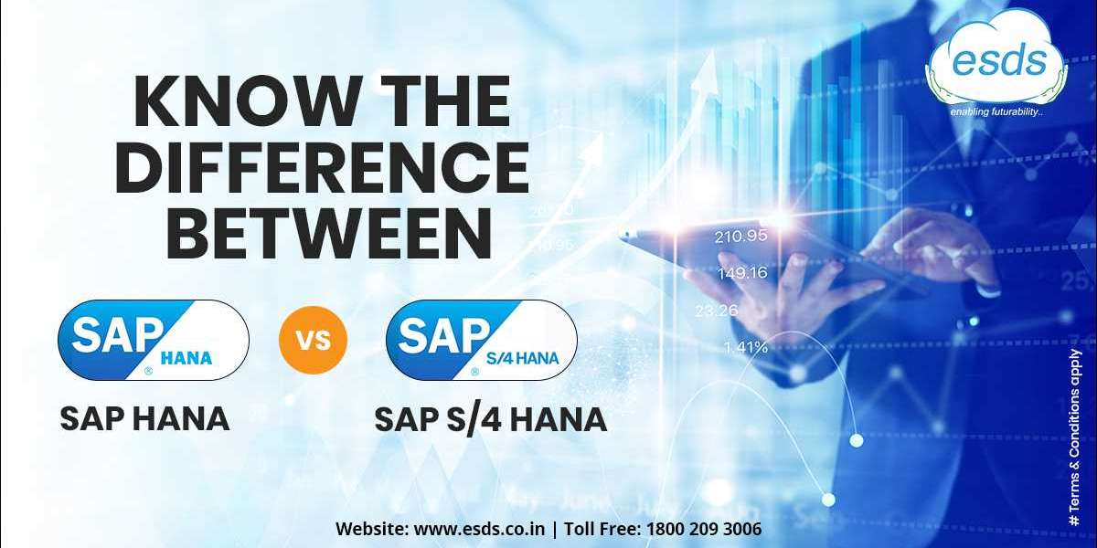 Know the difference between SAP HANA and SAP S/4 HANA
