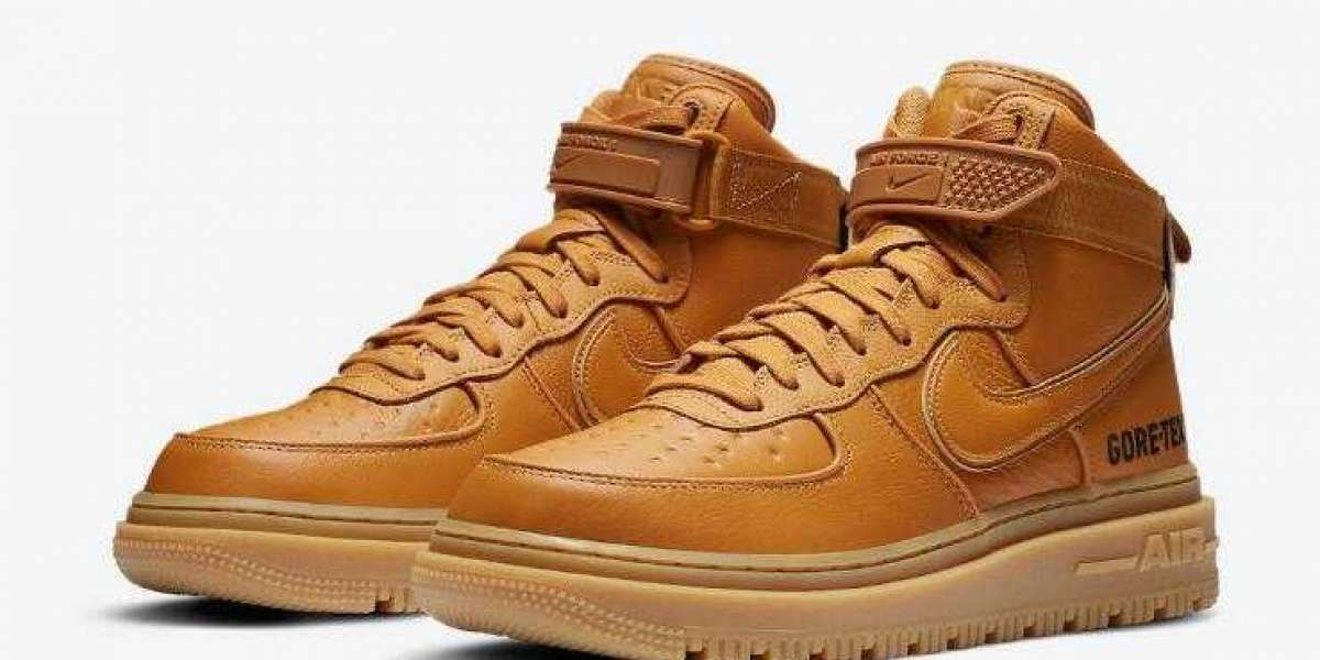 New Drop Nike Air Force 1 Gore-Tex Boot Wheat for Sale