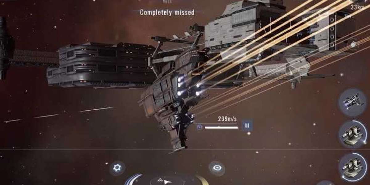 EVE Online's mobile derivative product EVE Echoes is very good