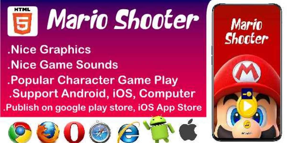 Buy HTML5 Games ; mario shooter, space balls