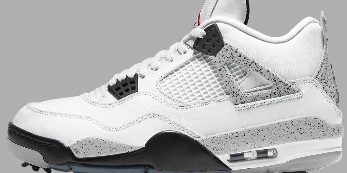 2021 Air Jordan 4 White Cement Returns With Golf Spikes