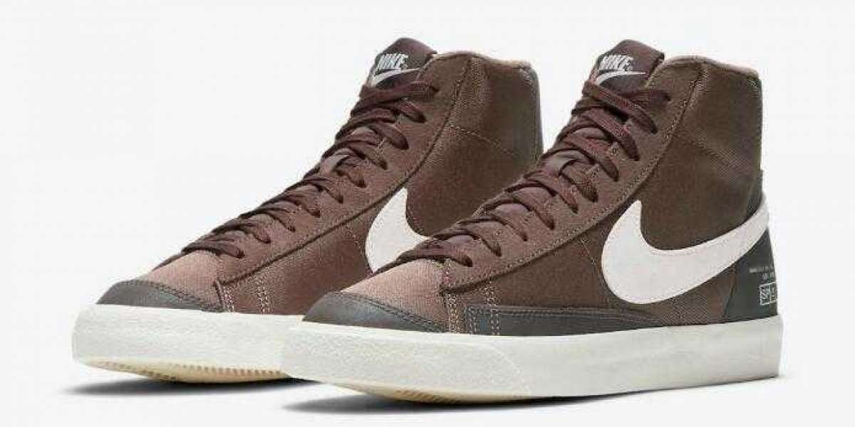 Are You Looking forward to New Nike Blazer Mid '77 Coffee ?