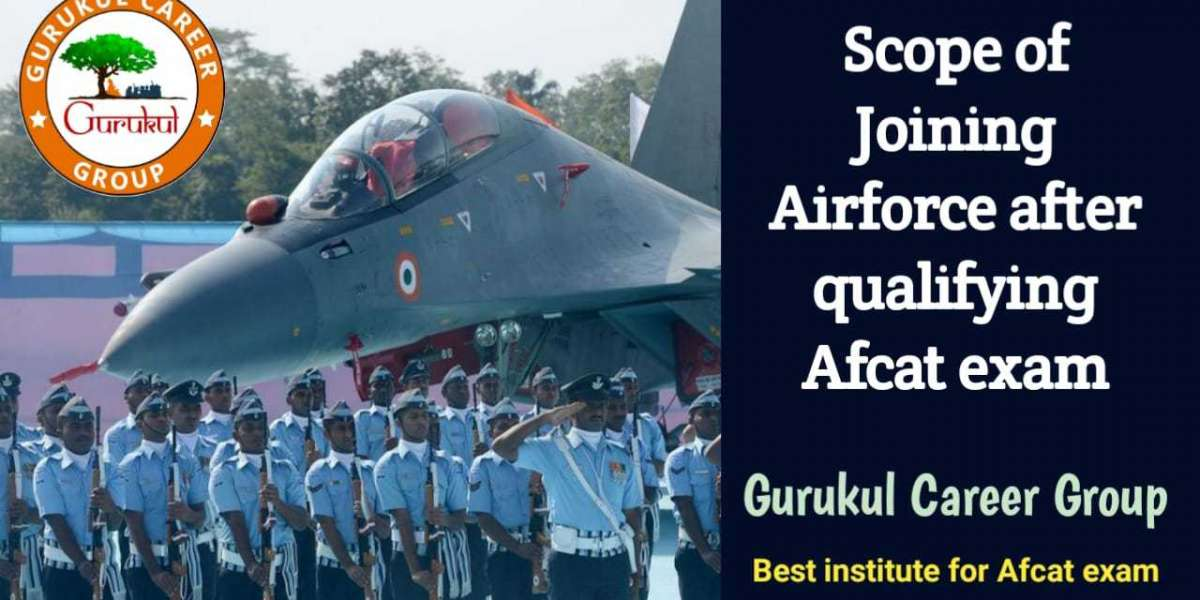 Scope of Joining Airforce after Qualifying AFCAT Exam