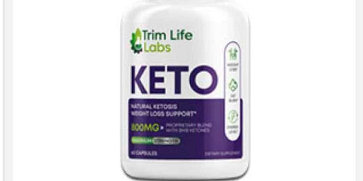 Trim Life Keto Weight Loss Pills