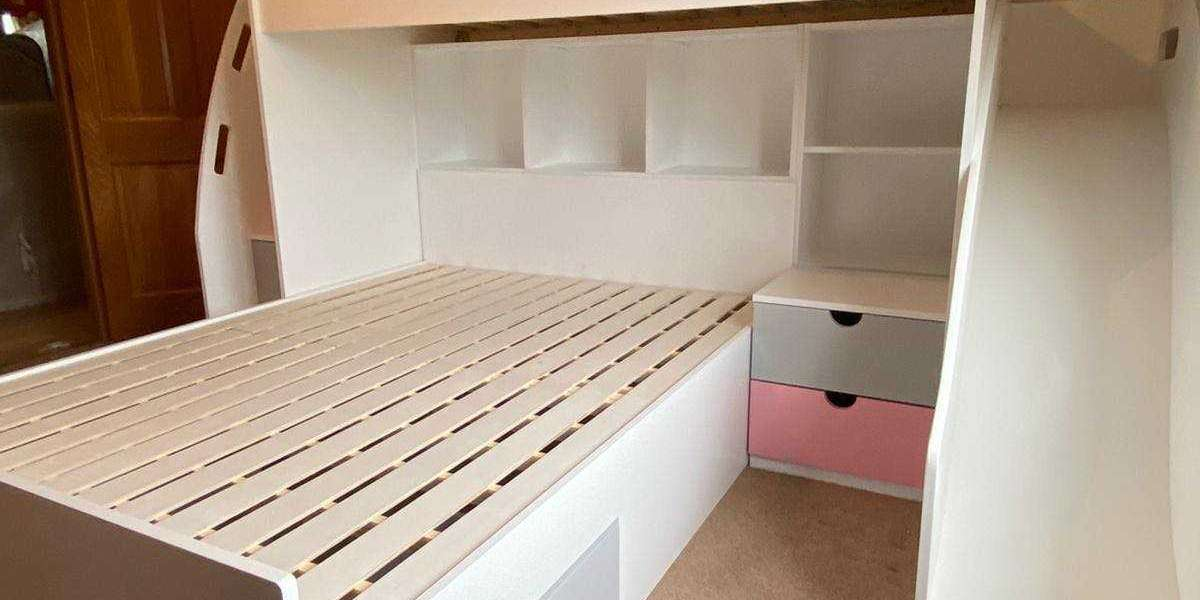 Stylish Bunk Beds With Steps For Kids